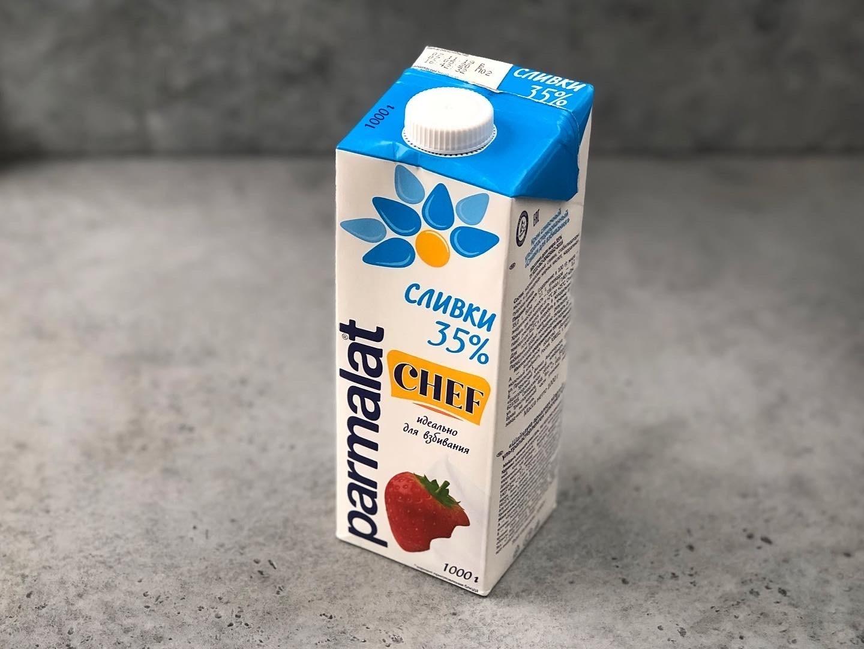 Сливки Parmalat 35%, 1 л