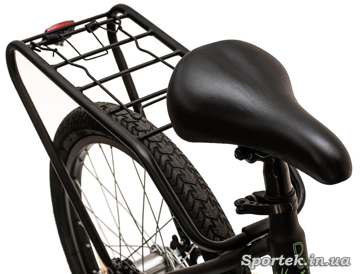 Сідло і багажник складного підліткового велосипеда Dorozhnik Fun 2016