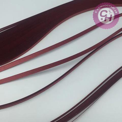 Бумага для квиллинга, оттенки МЕТАЛЛИК, 3 мм х 30 см * 100 листов, 120гр/м2.