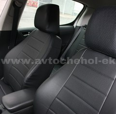 Авточехлы из Экокожи для Hyundai Santa Fe-II (2006-2012)