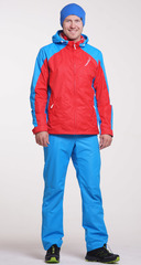 Ветрозащитный спортивный костюм Nordski National Red мужской