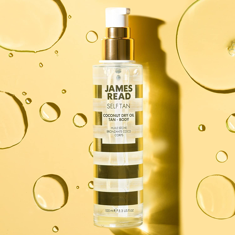 Сухое Кокосовое масло с эффектом загара James Read Self Tan Coconut Dry Oil Tan Body 100 мл