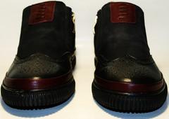 Купить зимние ботинки мужские Rifellini Rovigo оксфорды, черные