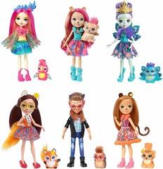 Набор из 6 кукол Энчантималс эксклюзив