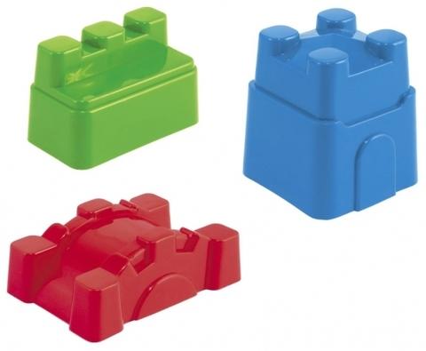 Набор формочек с ведёрком - 5 предметов, цвет МИКС