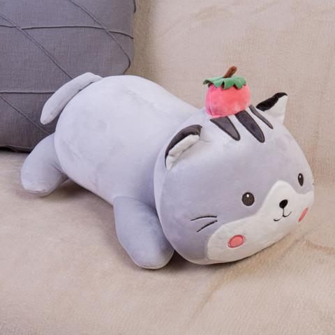 Мягкая игрушка кот с клубничкой DL205007308GR