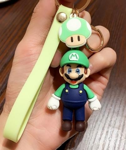 NS: Брелок New Super Mario Bros Keychain Cartoon (зеленый)