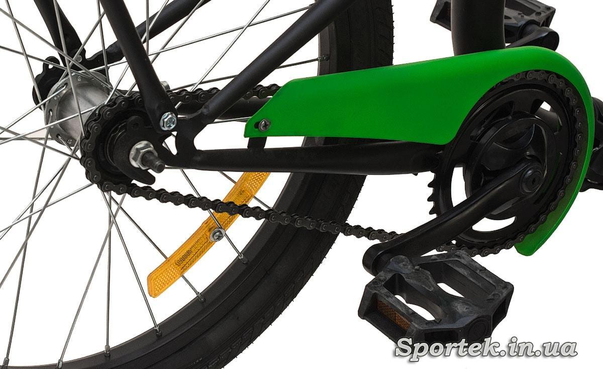 Трансмісія складного підліткового велосипеда Dorozhnik Fun 2016
