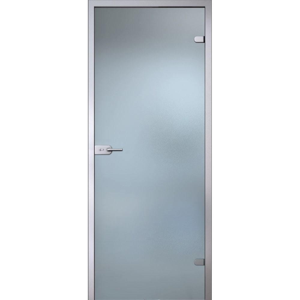 Для ванной и туалета Межкомнатная стеклянная дверь АКМА Лайт стекло бесцветное матовое lait-bescvetnoe-dvertsov-min.jpg