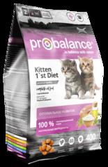 Корм ProBalance 1`st Diet Kitten для котят, с цыпленком
