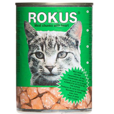 Корм «Rokus» консерв. с сердечками, 410г