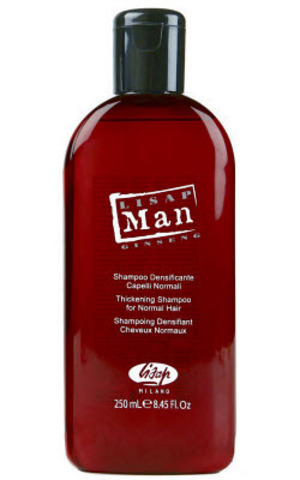 Укрепляющий шампунь для нормальных волос для мужчин «Lisap Man Densifying  Shampoo for Normal Hair» (250 мл)