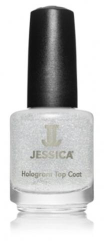 Лак JESSICA 601 Silver Голографический закрепитель лака (серебро)