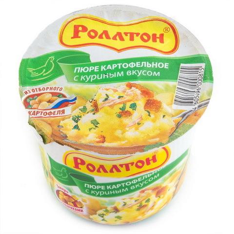 Пюре картофельное с курицей Роллтон 40г