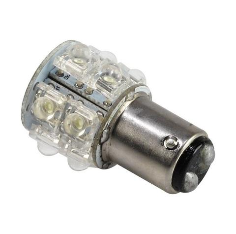 Лампочка светодиодная BA15D, 12 В / 1,5 Вт, 360 градусов