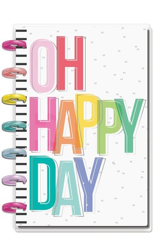 Ежедневник  Mini Happy Planner®  -13х18 см - Oh Happy Everyday (НЕ датирован)