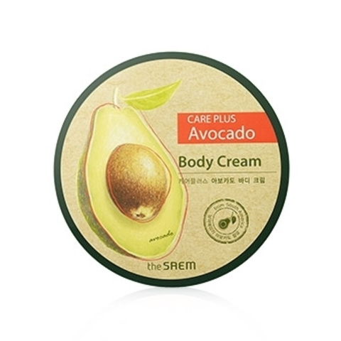 THE SAEM CARE PLUS Крем для тела с экстрактом авокадо Care Plus Avocado Body Cream 300мл