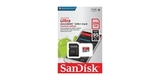 MicroSDXC 256GB SanDisk Class 10 Ultra Android (SD адаптер) 95MB/s блистер