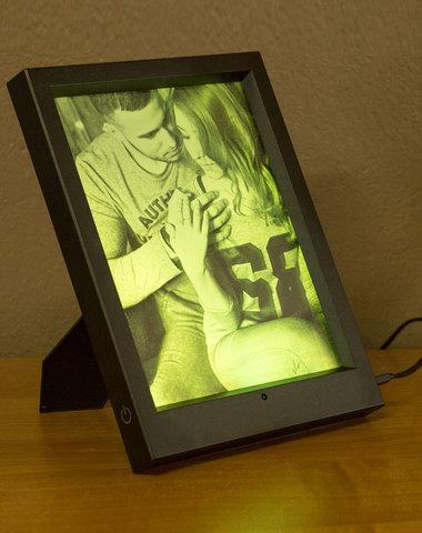 Ночник Фото-светильник в фоторамке с пультом ДУ