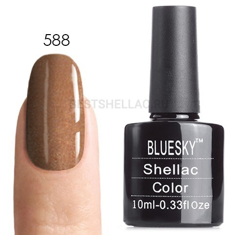 Bluesky Shellac 40501/80501 Гель-лак Bluesky № 40588/80588 Grand Galla, 10 мл 588.jpg