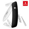 Швейцарский нож SWIZA D03 Standard, 95 мм, 11 функций, черный (блистер)