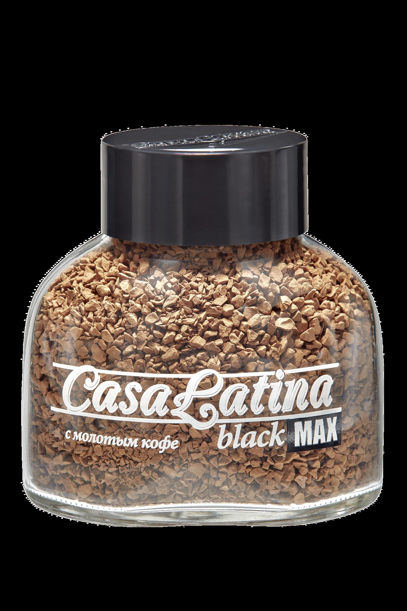 Кофе растворимый Casa Latina Max Black 85г