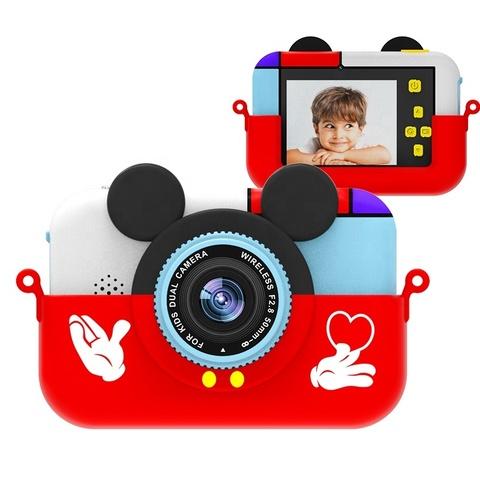 Детский фотоаппарат SmileZoom Микки Красный