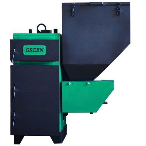 Котел твердотопливный автоматический Вулкан Green Eko 11 (правый)