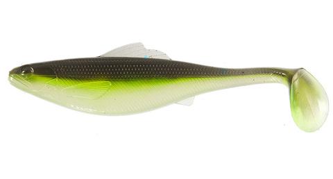 Виброхвост Lucky John Roach Paddle Tail 5in (12,7 см), цвет G02, 4 шт.