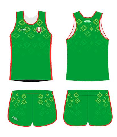 Форма национальная мужская ATEX с гербом РБ легкоатлетическая (2019/2020)