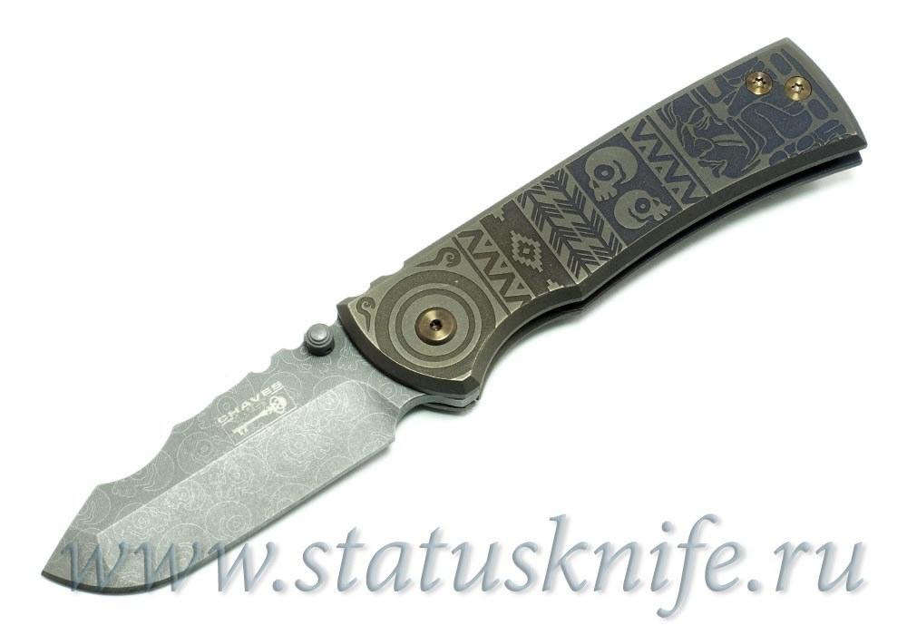 Нож Redencion Aztec Custom Ramon Chaves