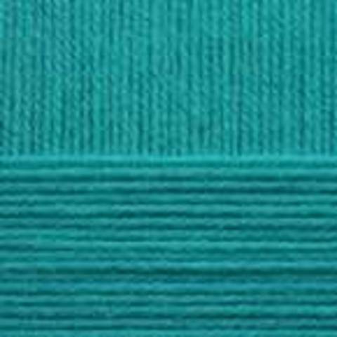 Детская новинка 581 Светлый изумруд Пехорка - фото, пряжа