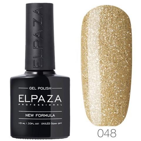 Гель лак Elpaza 048 Бежевое золото