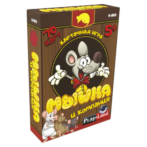 Карт.игра Мышка и компания 70 карт/R-803