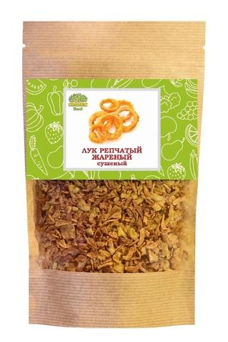 Лук репчатый жареный в крафт-пакете Organic Food, 140г