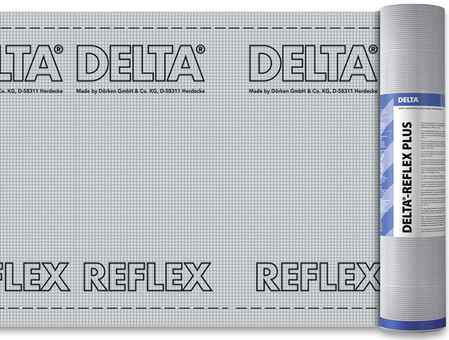 DELTA REFLEX пароизоляционная плёнка