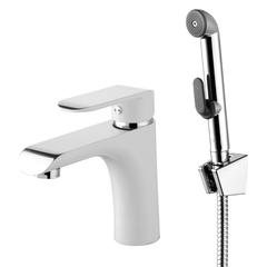 Смеситель для умывальника Iddis Calipso CALSB00i08 с гигиеническим душем