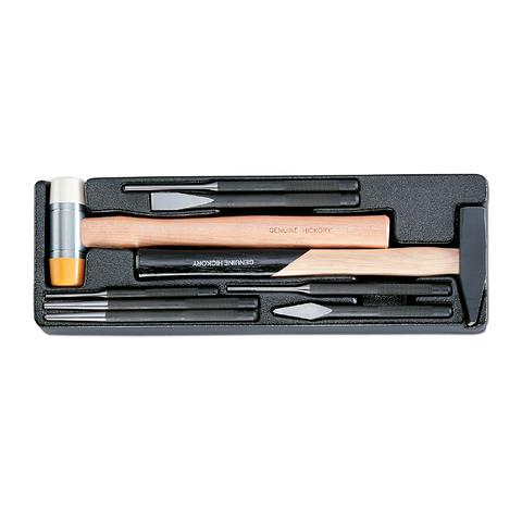 Набор инструмента в ложементе, 9 предметов, HONITON IK-ML0090