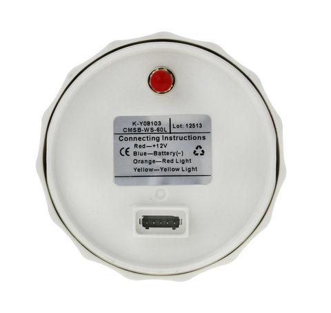 GPS-спидометр 0-60 узлов, аналоговый, белый
