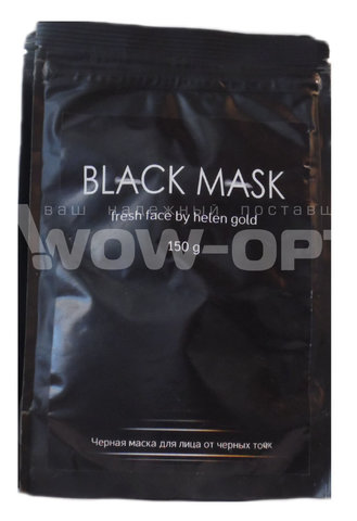 Черная маска Black Mask Pore Strip (150г) оптом