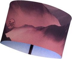 Теплая спортивная повязка на голову Buff Headband Tech Fleece Serra Mauve