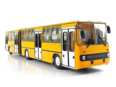 Ikarus-280.64 planetary doors yellow Soviet Bus 1:43