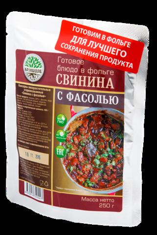 Свинина с фасолью 'Кронидов', 250г