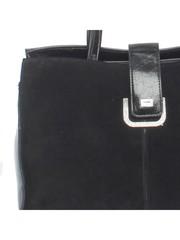Классическая сумка из комбинированной кожи