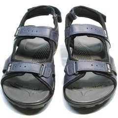 Трекинговые сандали мужские кожаные Mi Lord 2066EKO Blue