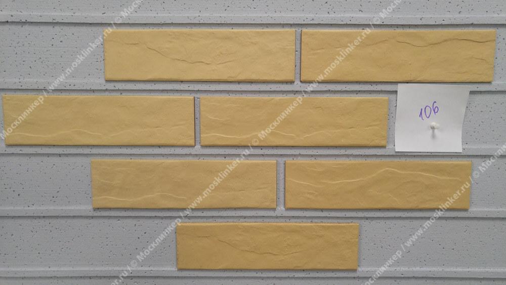 Cerrad Piaskowa, rustiko, new, 245x65x6.5 - Клинкерная плитка для фасада и внутренней отделки