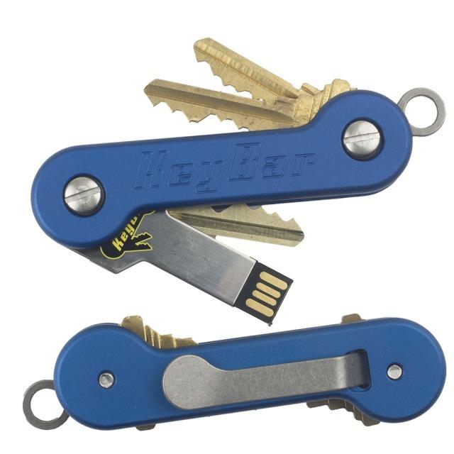 Key Bar Aluminum Blue