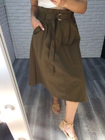 длинная юбка цвета хаки nadya