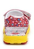 Босоножки Минни Маус (Minnie Mouse) на липучке открытые для девочек, цвет красный желтый. Изображение 3 из 8.