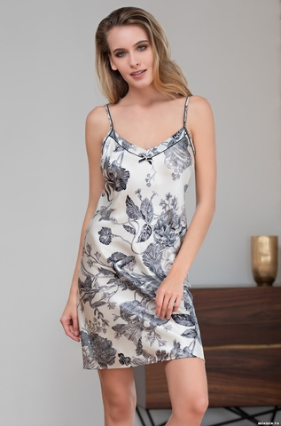 Сорочка женская шелковая  Mia-Amore LETUAL Летуаль  3431